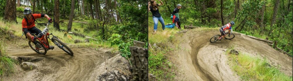Mountain bikers from around the country compete in the annual Ashland Spring Thaw races in Ashland, Oregon